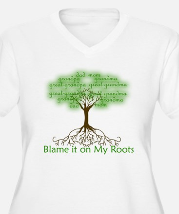 Blame it on My Roots Plus Size T-Shirt