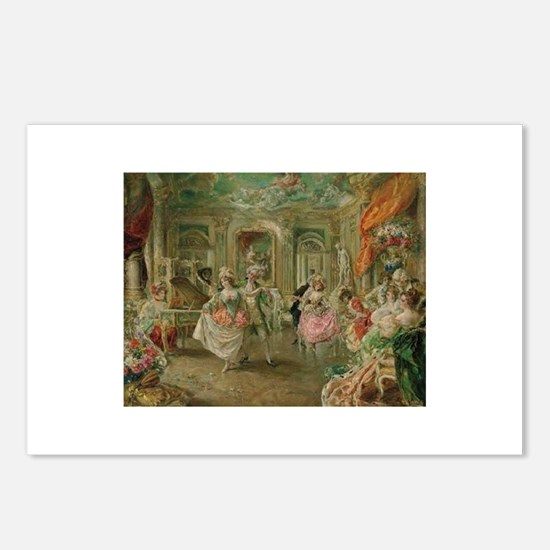 Rococo Dance Party Postcards (Package of 8)