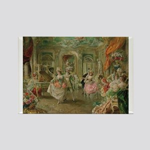 Rococo Dance Party Magnets
