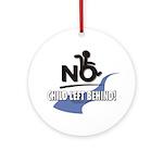 No Child Left Behind! Ornament (Round)