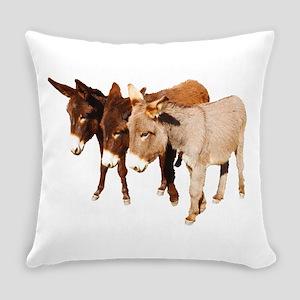 Wild Burro Buddies Everyday Pillow