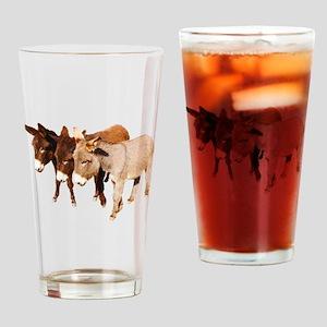 Wild Burro Buddies Drinking Glass