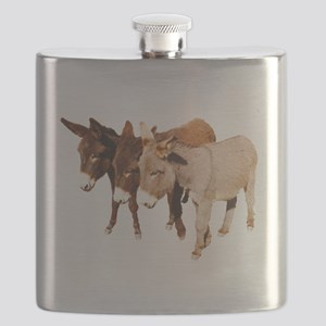 Wild Burro Buddies Flask
