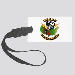 Storm Chaser - Texas Large Luggage Tag