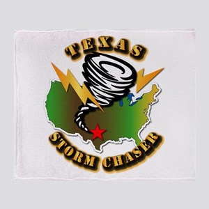 Storm Chaser - Texas Throw Blanket