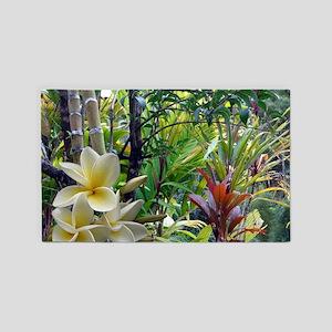 Tropics With Plumeria 3'x5' Area Rug