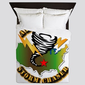 Storm Chaser - Arkansas Queen Duvet