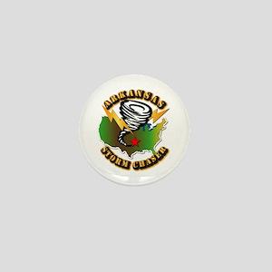 Storm Chaser - Arkansas Mini Button