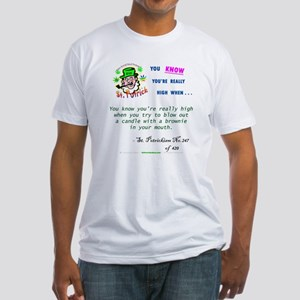 St Potrickism #247: Mouthful / Fitted T-Shirt