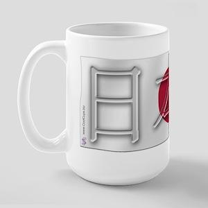 Soccer Flag Nihon Koku Large Mug