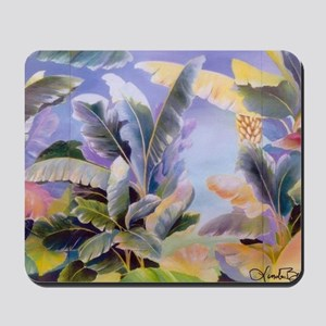 Banana Leaves Mousepad