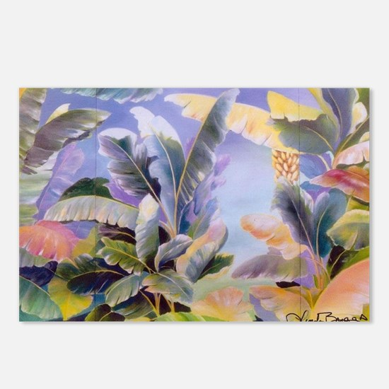 Banana Leaves Postcards (Package of 8)
