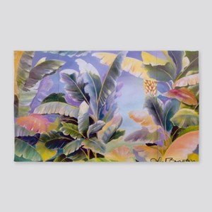 Banana Leaves 3'x5' Area Rug