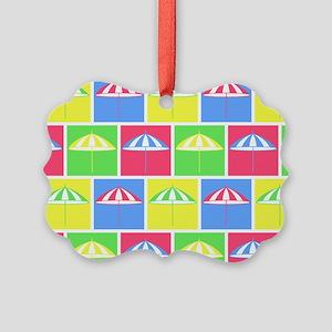 Colorful parasol pattern Ornament