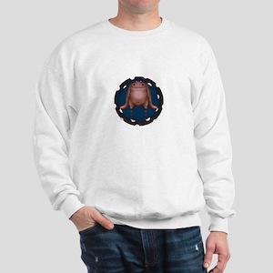 Cute Fat Alien Sweatshirt