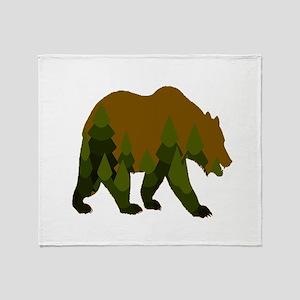 BEAR Throw Blanket