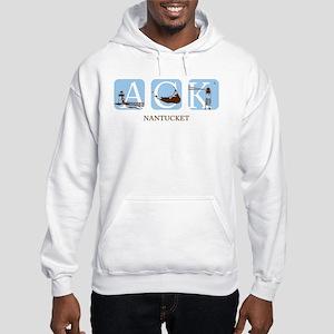 Nantucket Island Hooded Sweatshirt