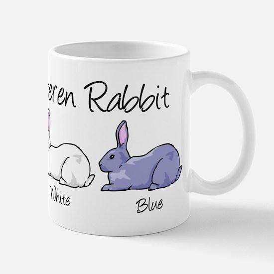Beveren Rabbit Colors Mugs