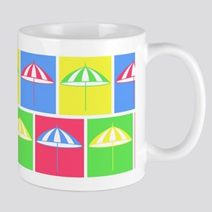 Colorful parasol pattern Mugs