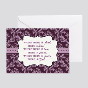 WHERE THERE IS... Greeting Card