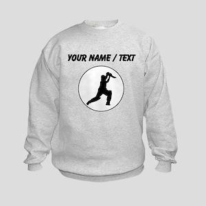 Custom Cricket Player Circle Sweatshirt