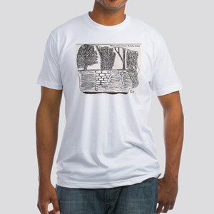 New Mexican Adobe Wall Fitted T-Shirt