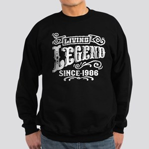 Living Legend Since 1986 Sweatshirt (dark)