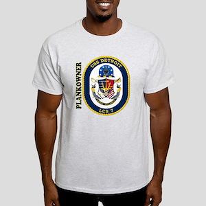 USS Detroit Plankowner Light T-Shirt