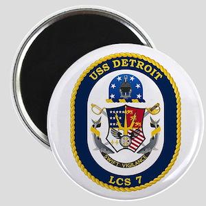USS Detroit LCS-7 Magnet