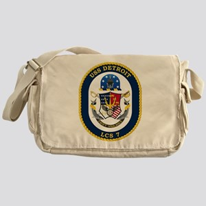 USS Detroit LCS-7 Messenger Bag