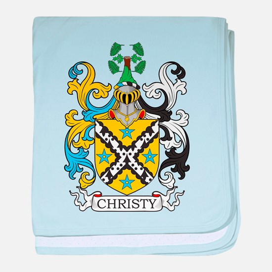 Christy Family Crest baby blanket