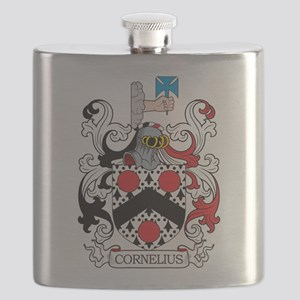 Cornelius Family Crest Flask