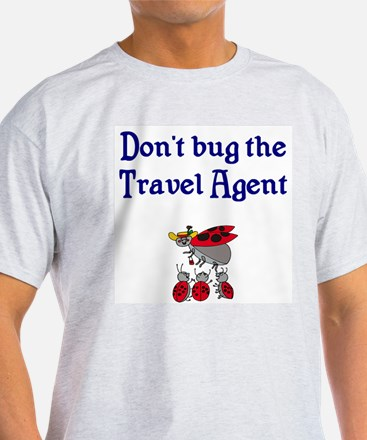 Travel Agent and Ladybugs T-Shirt