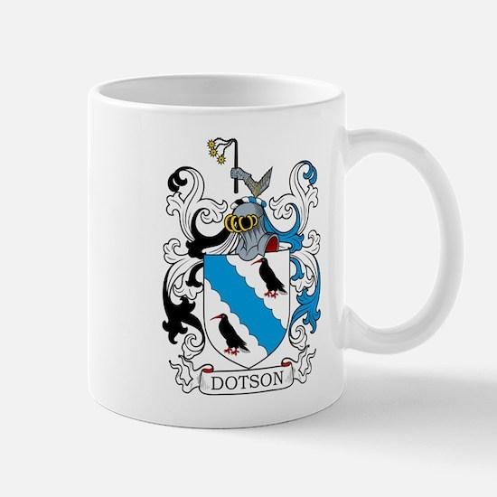 Dotson Family Crest Mugs