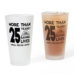 ARC 25 Years of Saving Lives black logo Drinking G