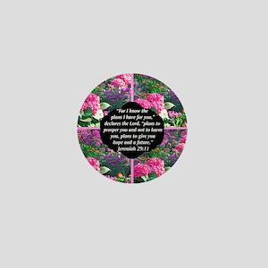 JEREMIAH 29:11 Mini Button
