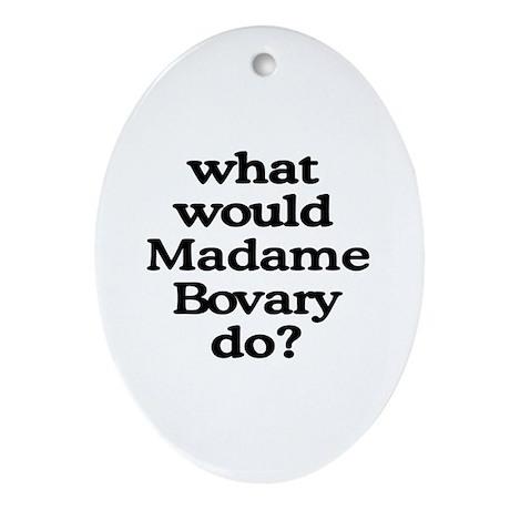 Madame Bovary Oval Ornament