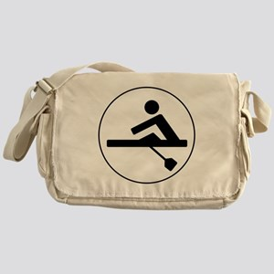 Rower Circle Messenger Bag