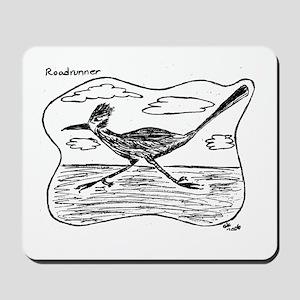 Roadrunner Illustration Mousepad