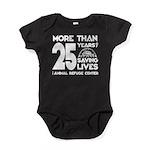 ARC 25 Years of Saving Lives white logo Baby Bodys