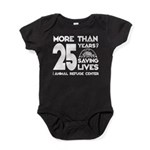 ARC 25 Years of Saving Lives white logo Baby Bodys