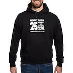 ARC 25 Years of Saving Lives white logo Hoodie