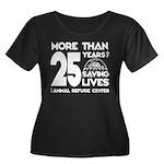 ARC 25 Years of Saving Lives white logo Plus Size
