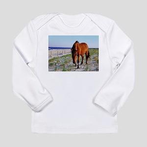 Mystic Beauty, Wild Horse Long Sleeve T-Shirt