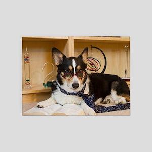 Science Dog 5'x7'Area Rug