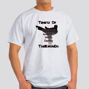 Traditional Taekwondo Tenants T-Shirt