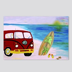 Surf'S Up Postcards (Package of 8)