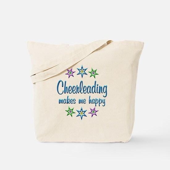 Cheerleading Happy Tote Bag