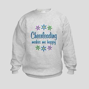 Cheerleading Happy Kids Sweatshirt
