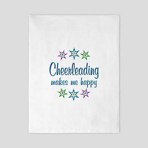 Cheerleading Happy Twin Duvet